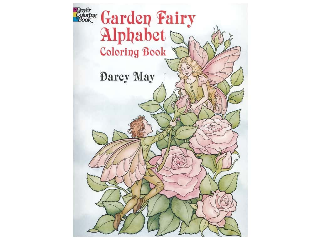 Dover Publications Garden Fairy Alphabet Coloring Book