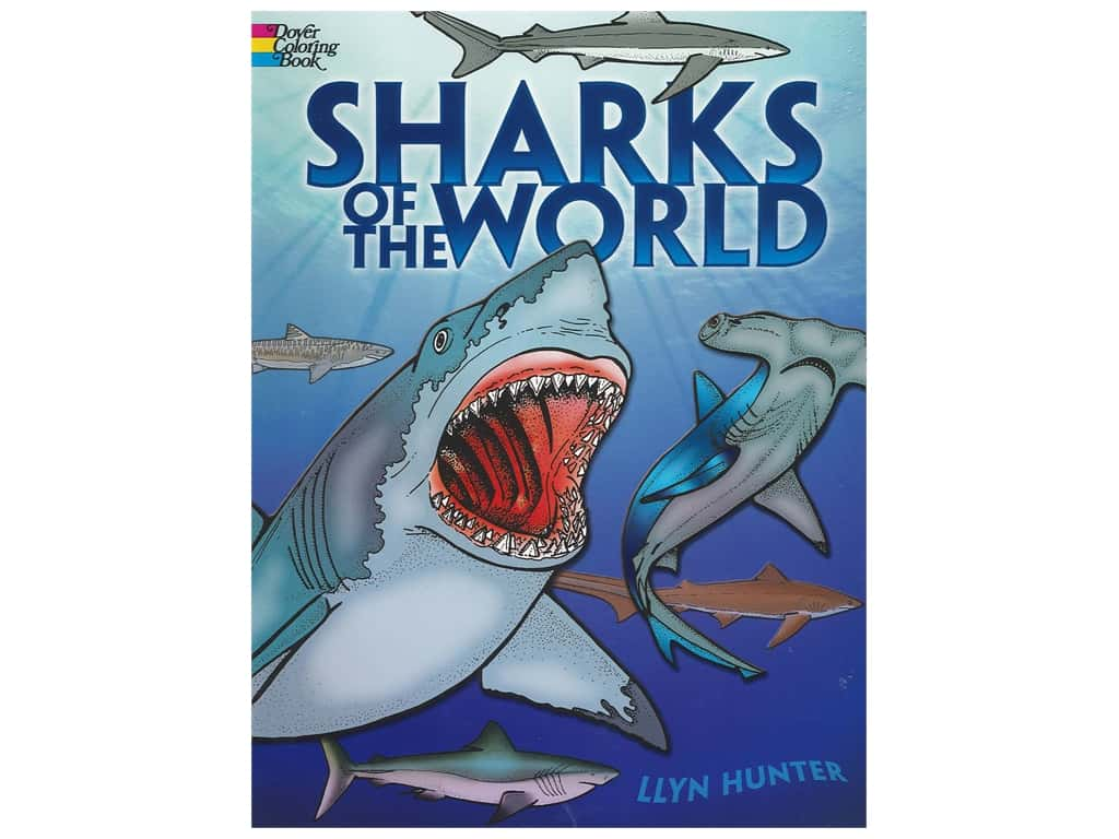 Dover Publications Sharks Of The World Coloring Book