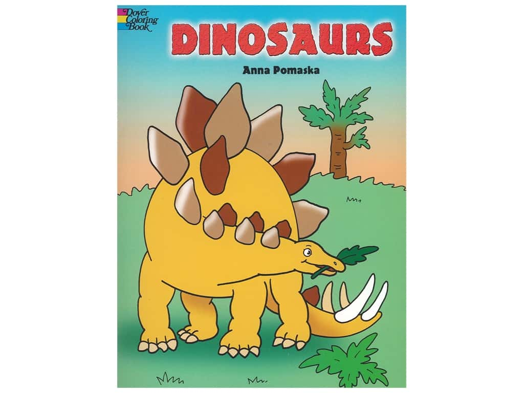 Dover Publications Dinosaurs Coloring Book