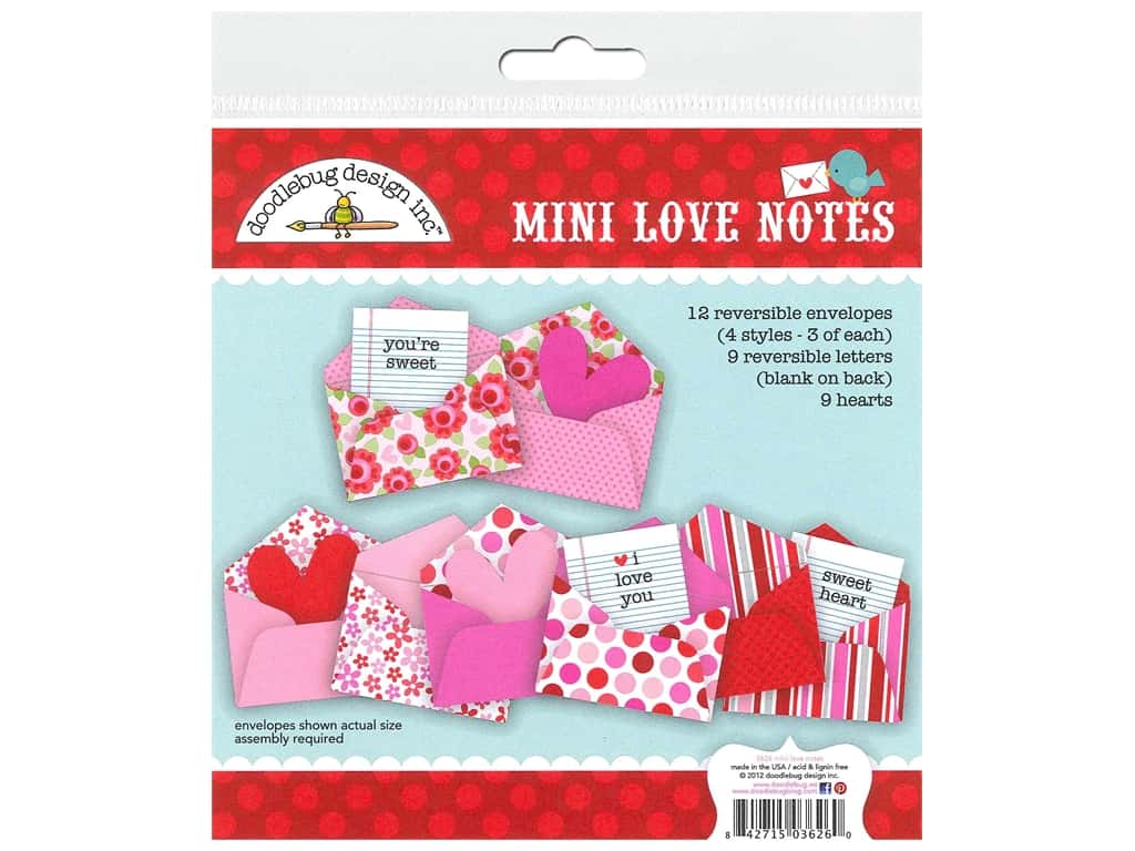 Doodlebug Mini Love Notes