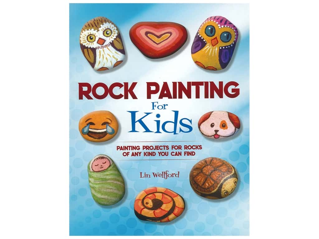 Rock Painting for Kids Book
