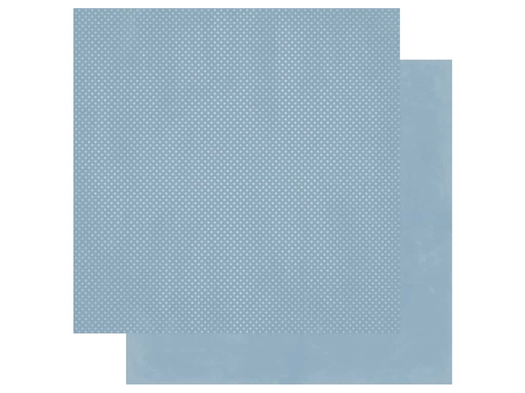 Bo Bunny 12 x 12 in. Paper Double Dot Country Blue (25 sheets)