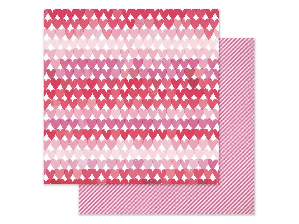Pink Paislee Collection Lucky Us Paper 12 in. x 12 in. Paper 8 (25 pieces)