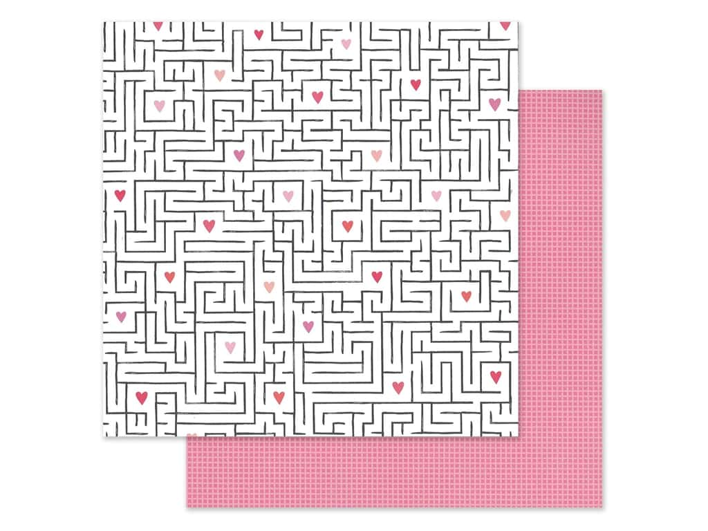 Pink Paislee Collection Lucky Us Paper 12 in. x 12 in. Paper 11 (25 pieces)