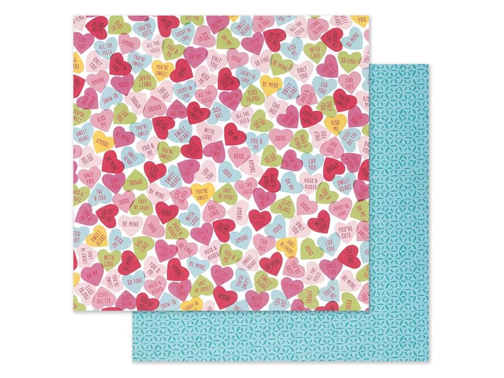 Pink Paislee Collection Lucky Us Paper 12 in. x 12 in. Paper 12 (25 pieces)
