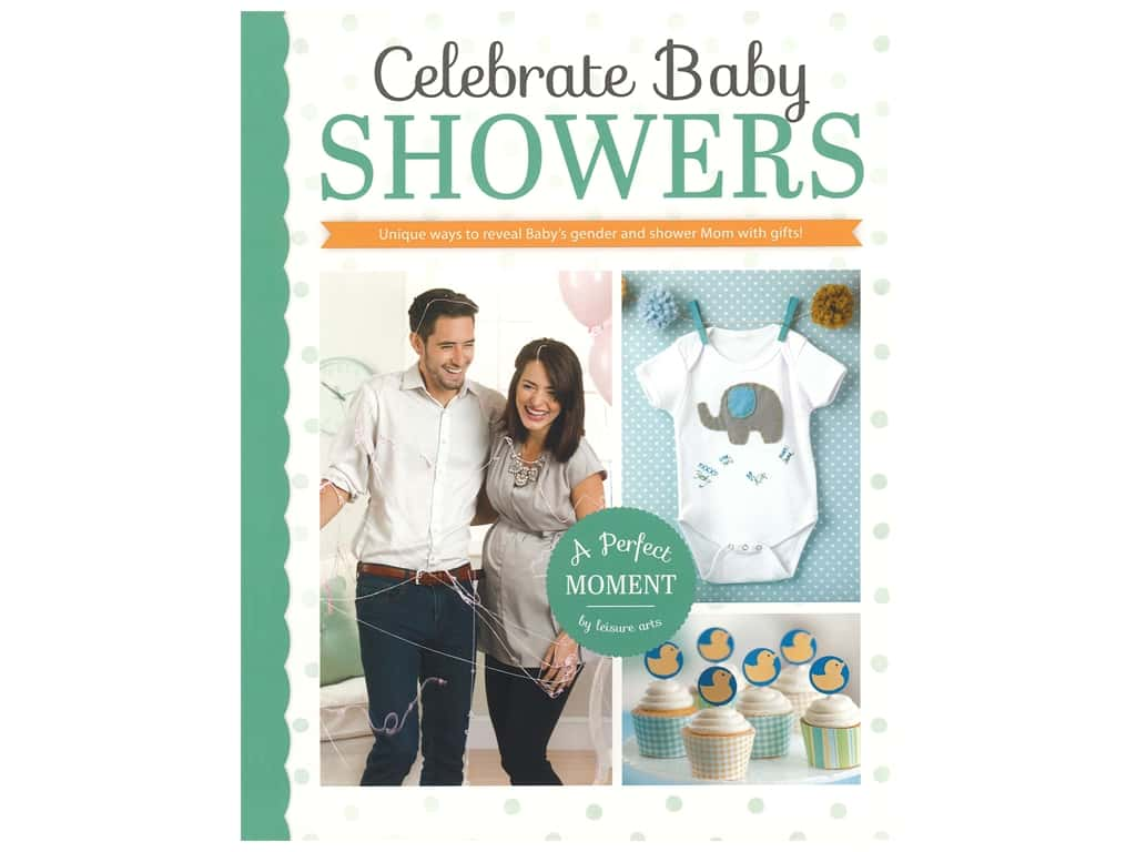 Leisure Arts Celebrate Baby Showers Book