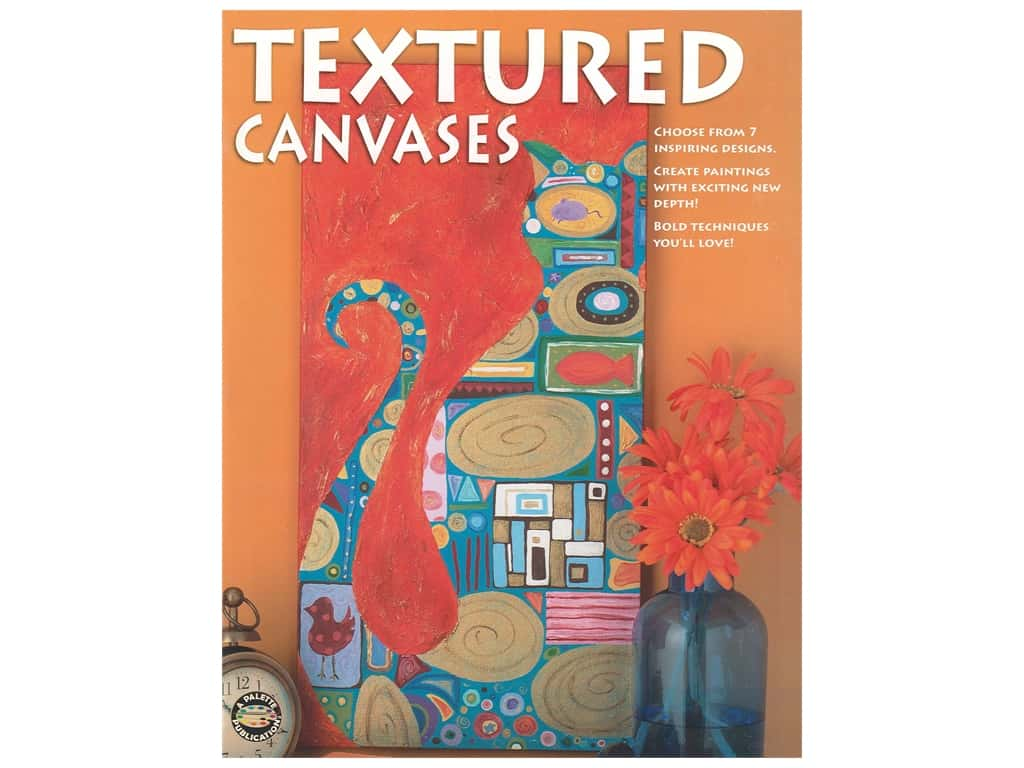 Leisure Arts Textured Canvases Book