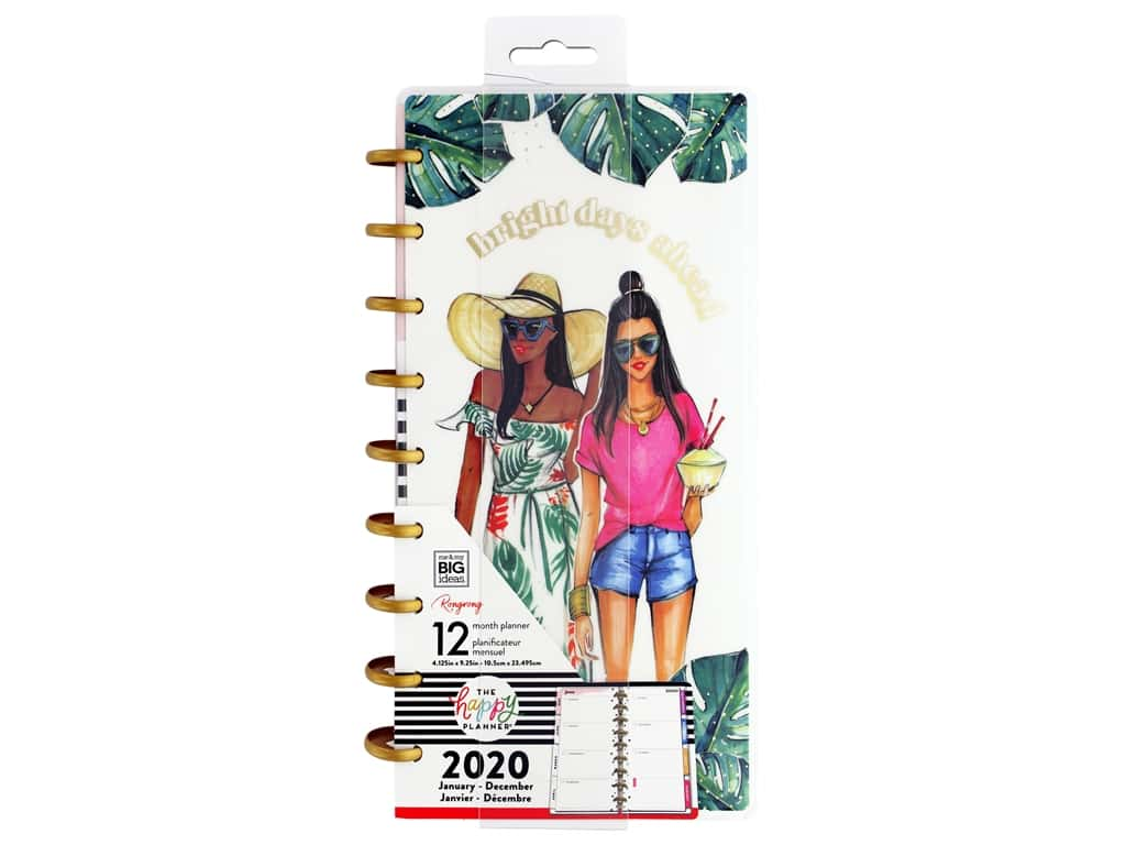 Me&My Big Ideas Happy Planner RongRong Classic Bright Days Ahead