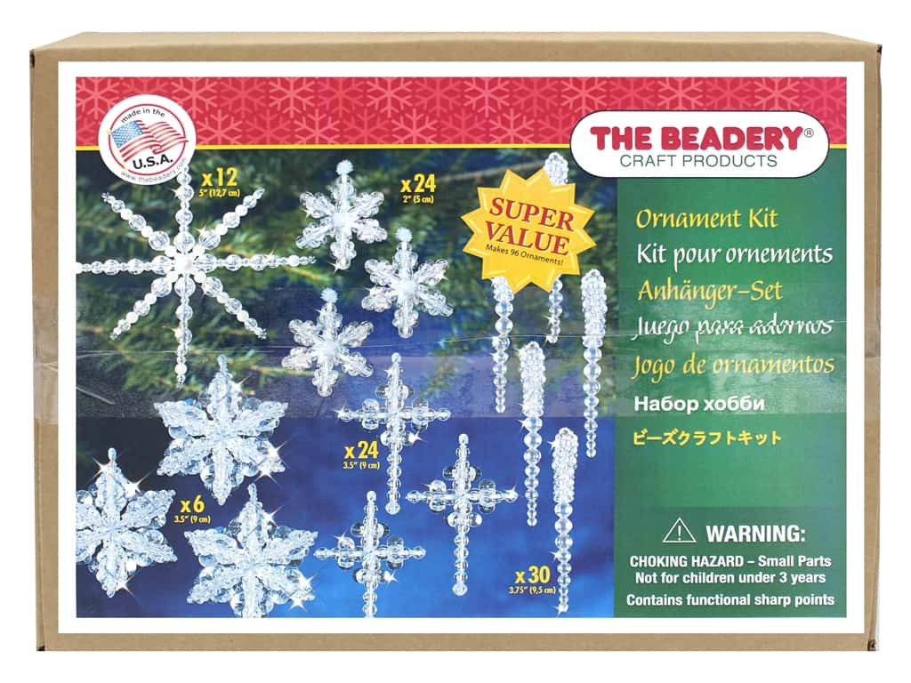 The Beadery Ornament Kit Crystal Collection
