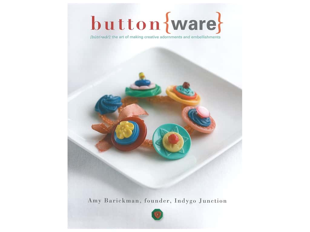 Indygo Junction Buttonware Book