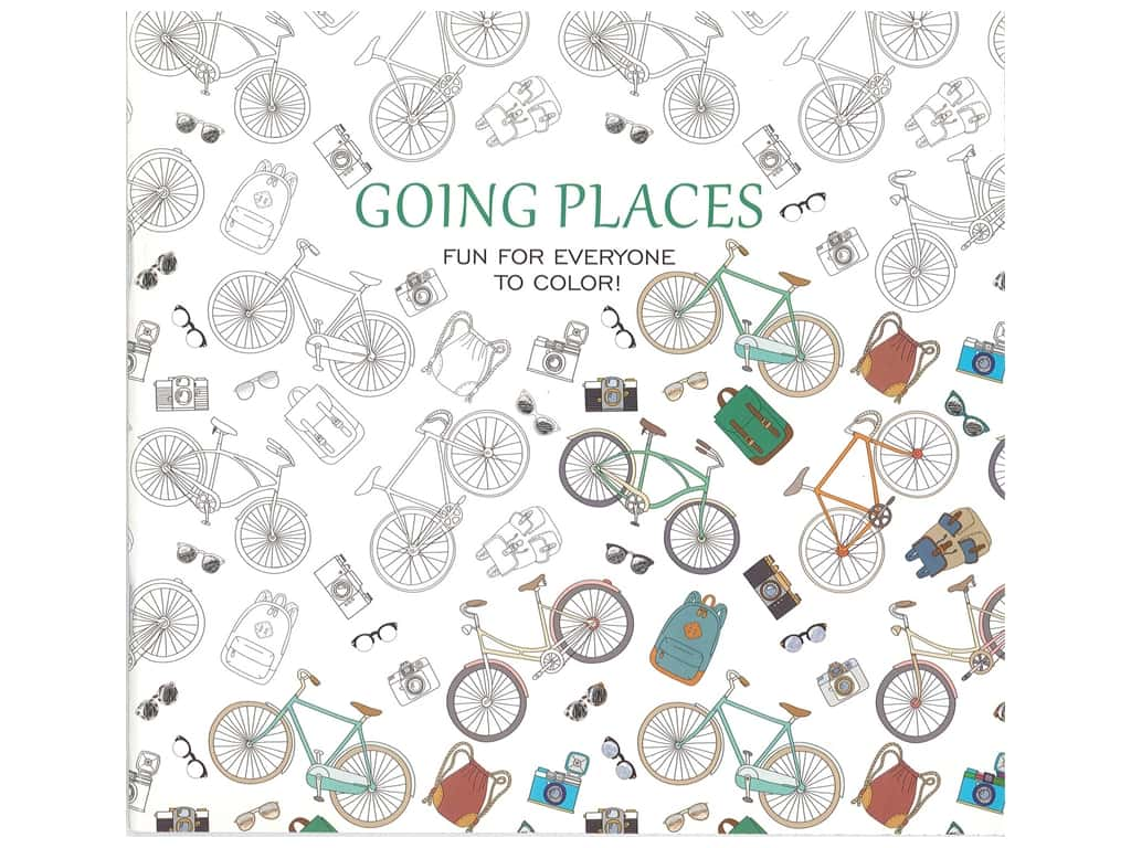 Going Places: Fun for Everyone to Color! Book