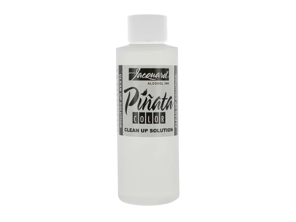 Jacquard Pinata Color Alcohol Ink Clean Up Solution 4 oz