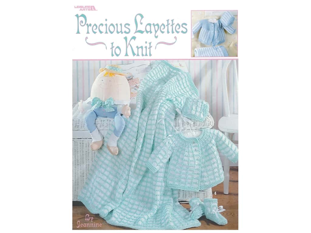 Leisure Arts Precious Layettes To Knit Book