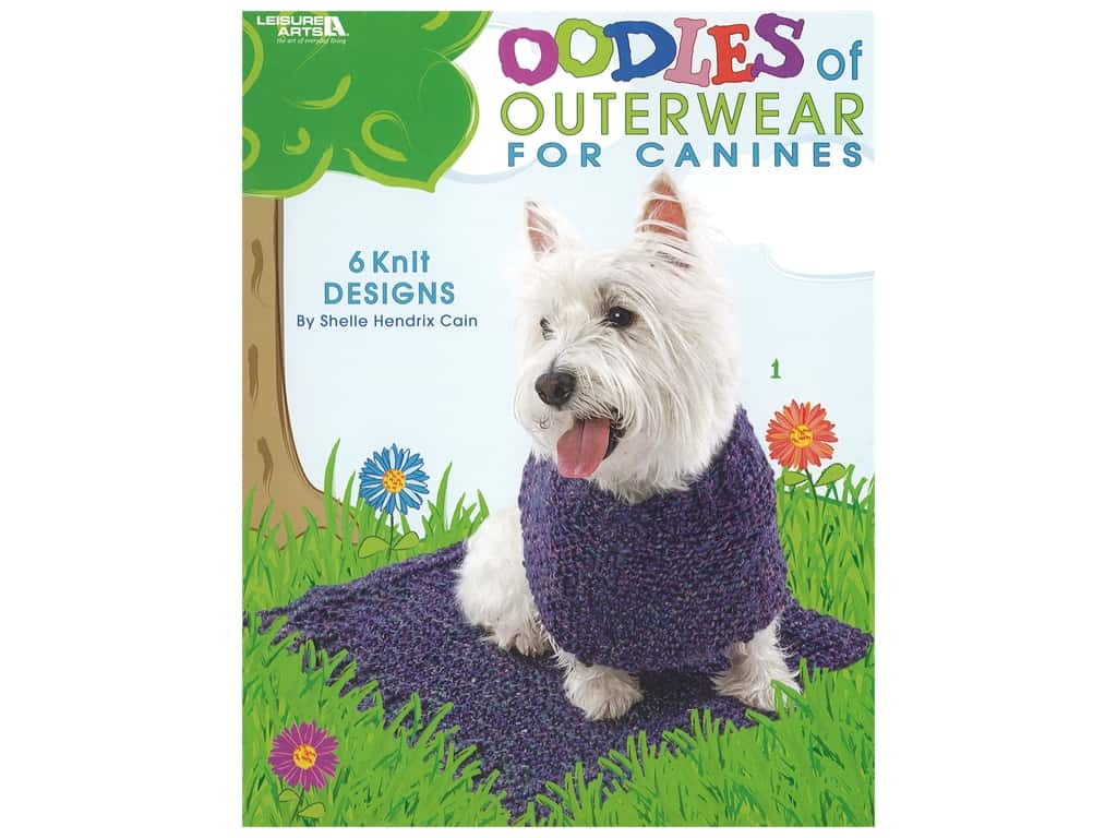 Leisure Arts Oodles of Outerwear For Canines Book