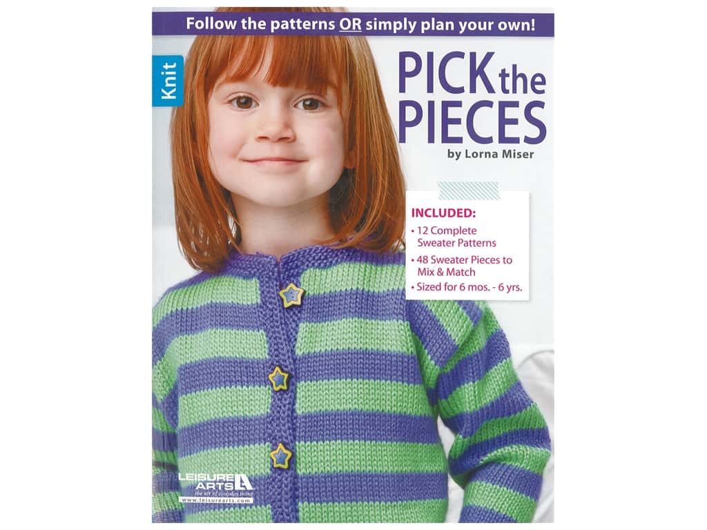 Leisure Arts Pick the Pieces Book