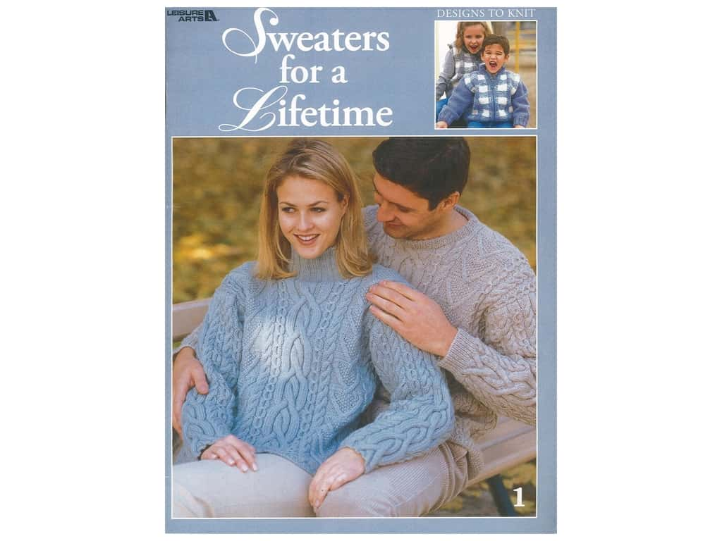 Leisure Arts Sweaters for a Lifetime Knit Book