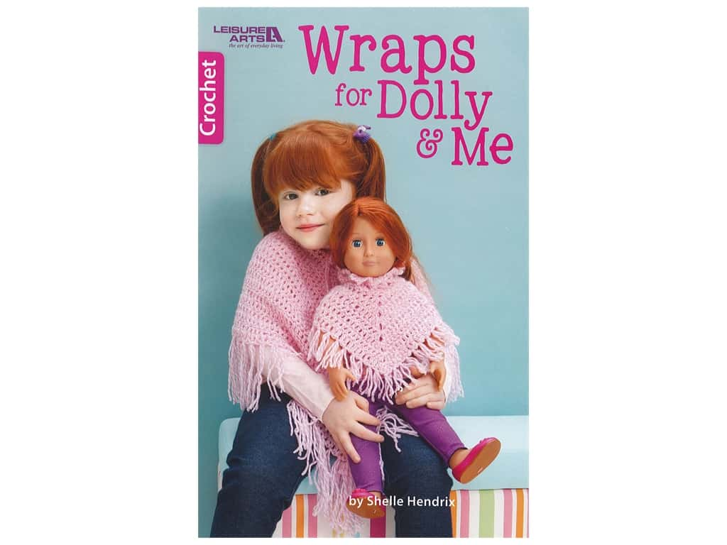Wraps for Dolly & Me Crochet Book
