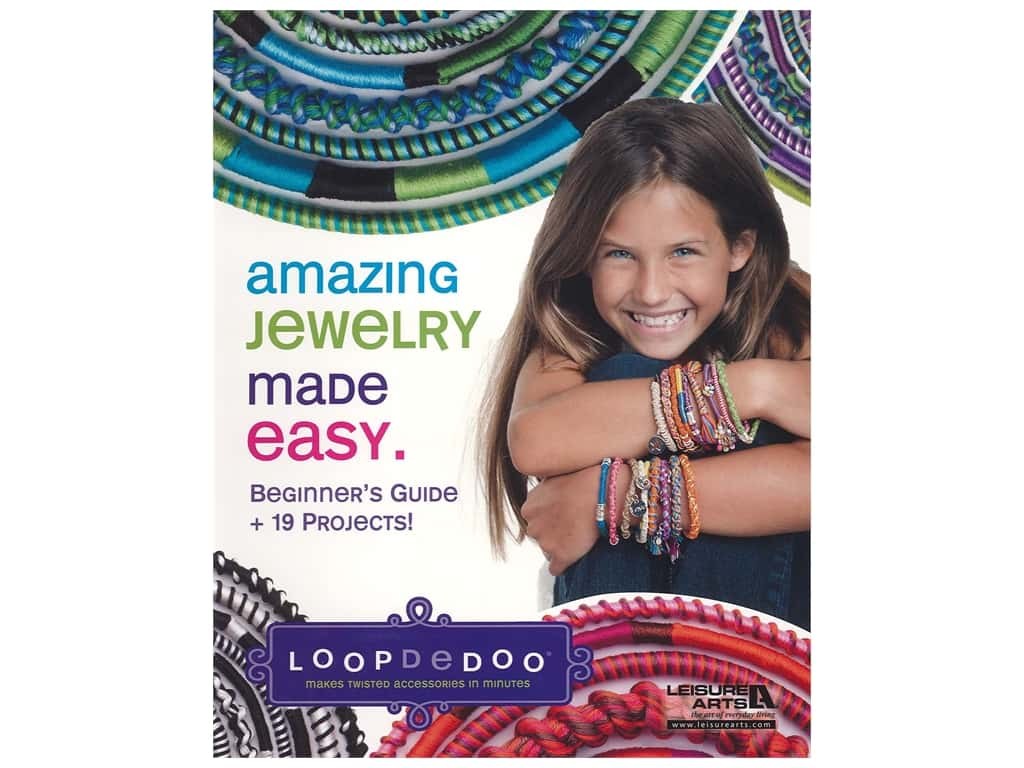Leisure Arts Amazing Jewelry Made Easy Book