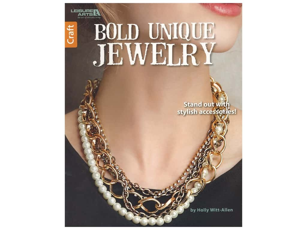 Leisure Arts Bold Unique Jewelry Book