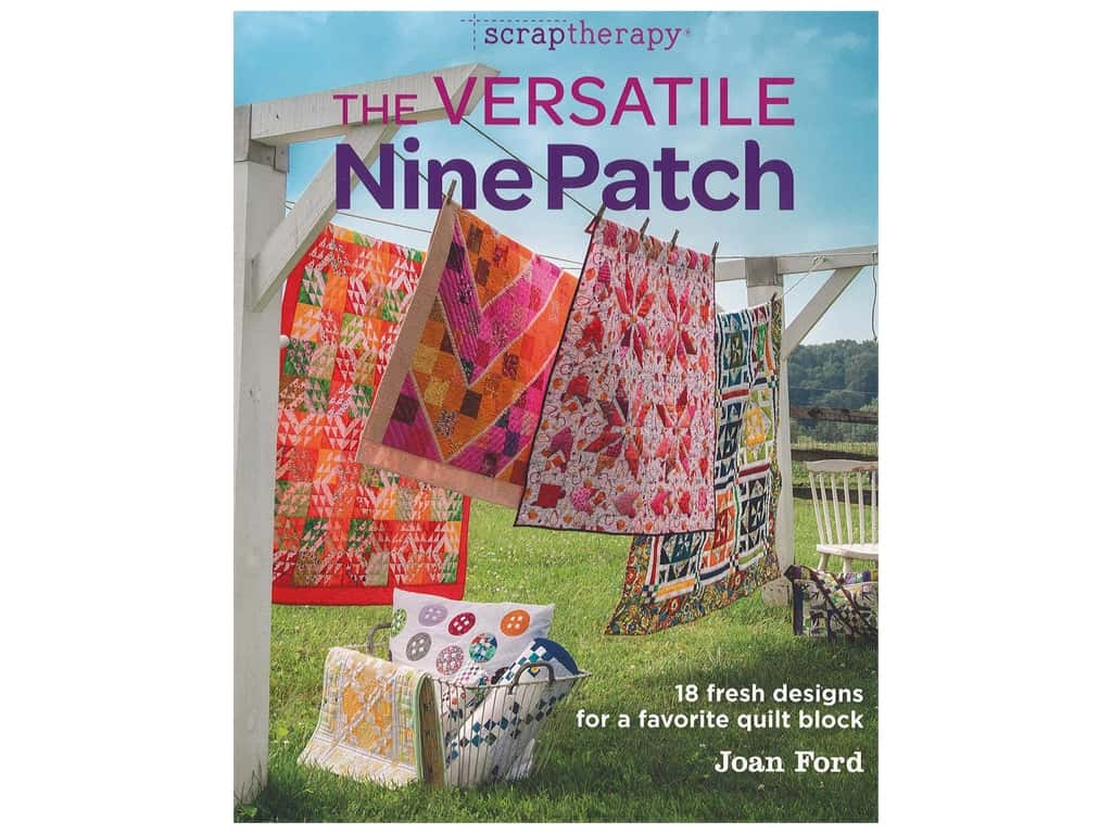 Taunton Press Scraptherapy The Versatile Nine Patch Book