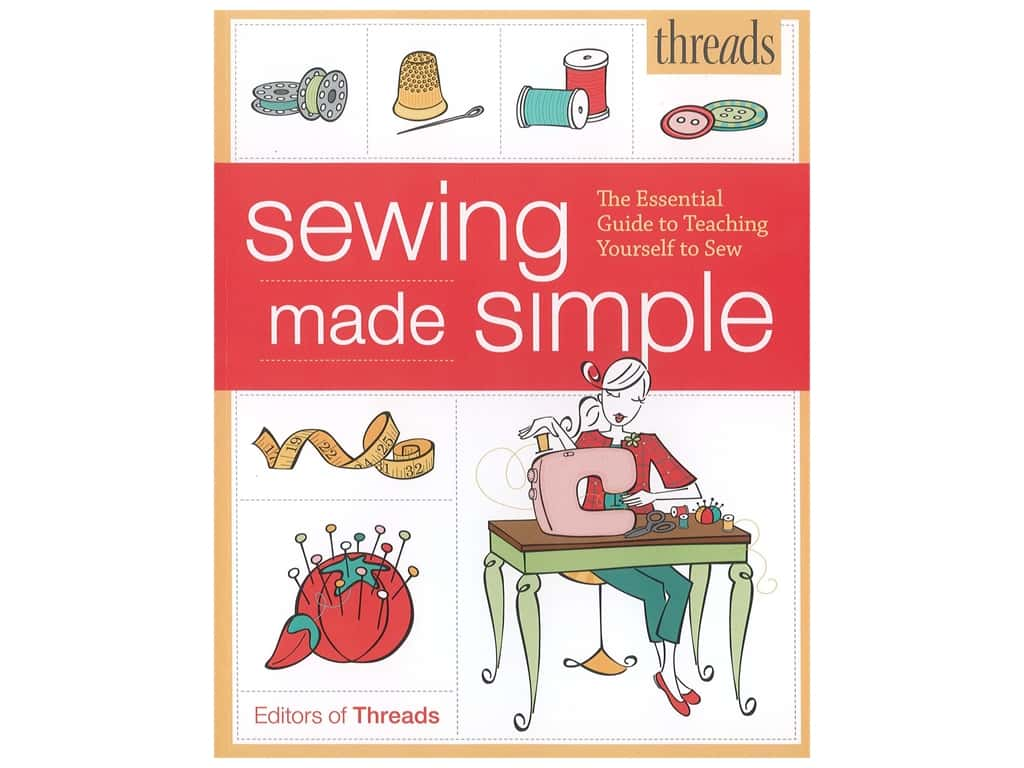Taunton Press Threads Sewing Made Simple Book