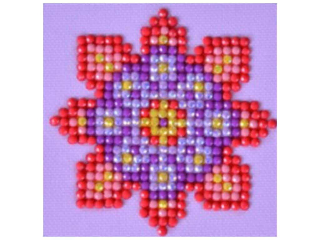 Diamond Dotz Facet Art Kit Starter Flower Mandala 2
