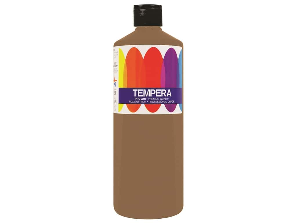 Pro Art Liquid Tempera Paint 16 oz. Metallic Gold