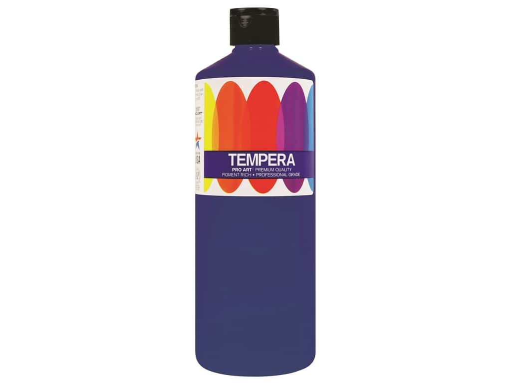 Pro Art Liquid Tempera Paint 16 oz. Ultra Blue