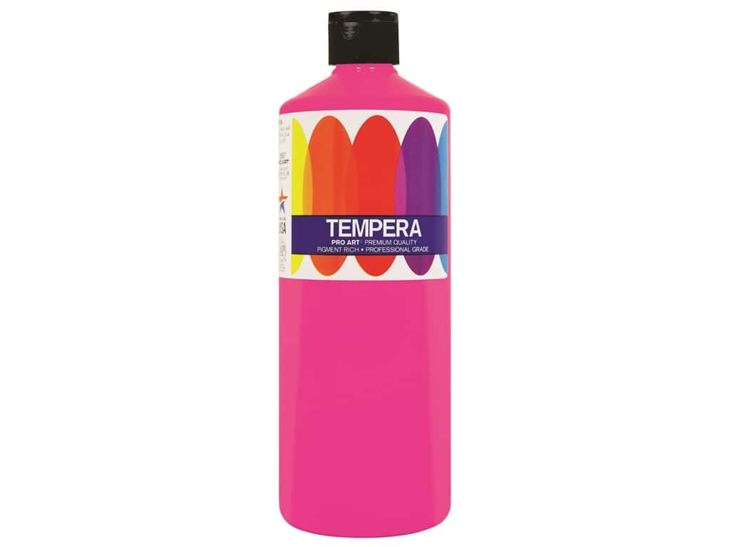 Pro Art Liquid Tempera Paint 16 oz. Magenta