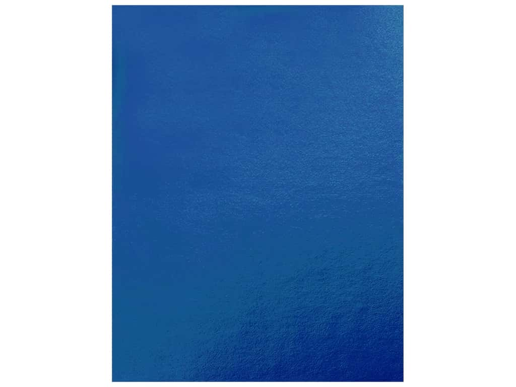 Pacon Poster Board Metallic 22 in. x 28 in. Blue (25 pieces)