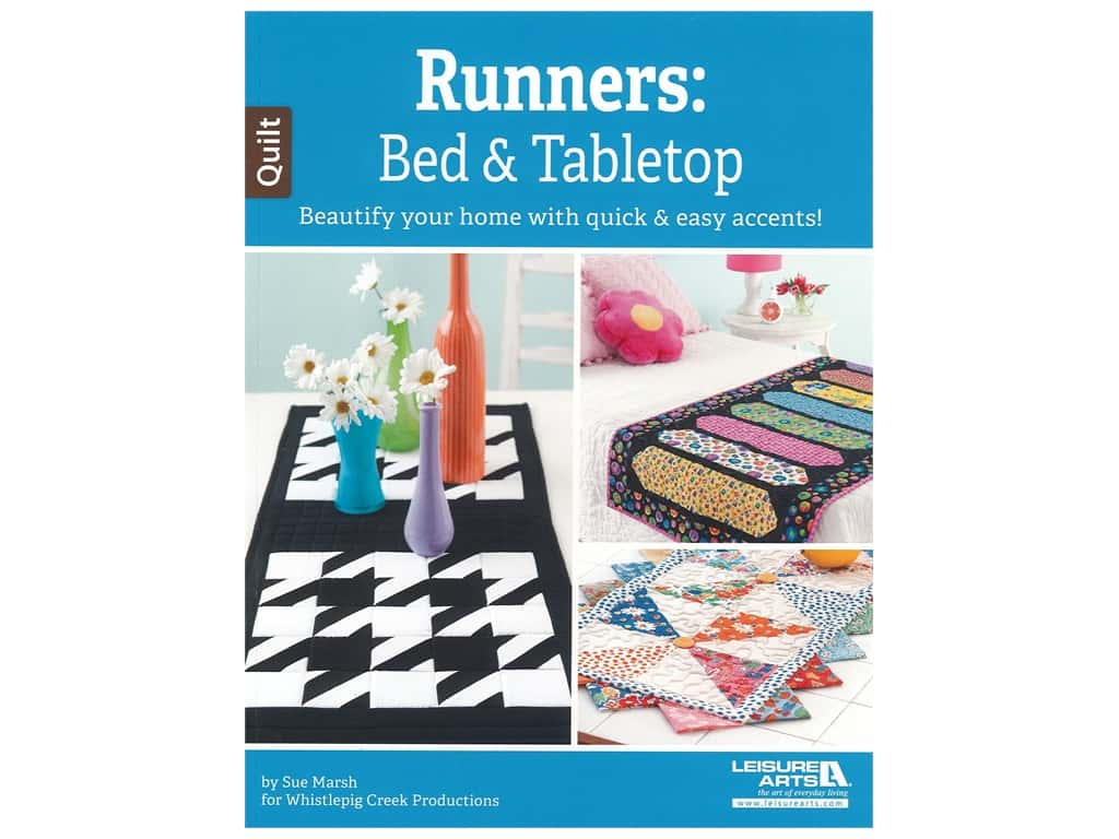 Leisure Arts Runners Bed & Tabletop Book