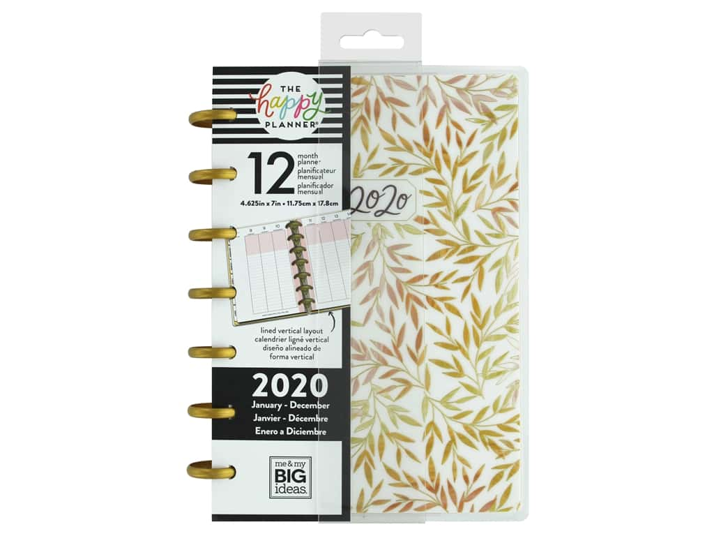 Me&My Big Ideas Happy Planner Mini Live With Heart 2020