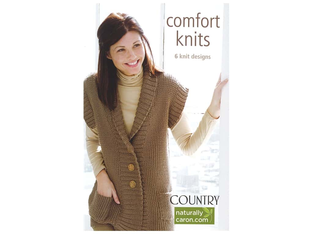 Leisure Arts Caron Comfort Knits Book
