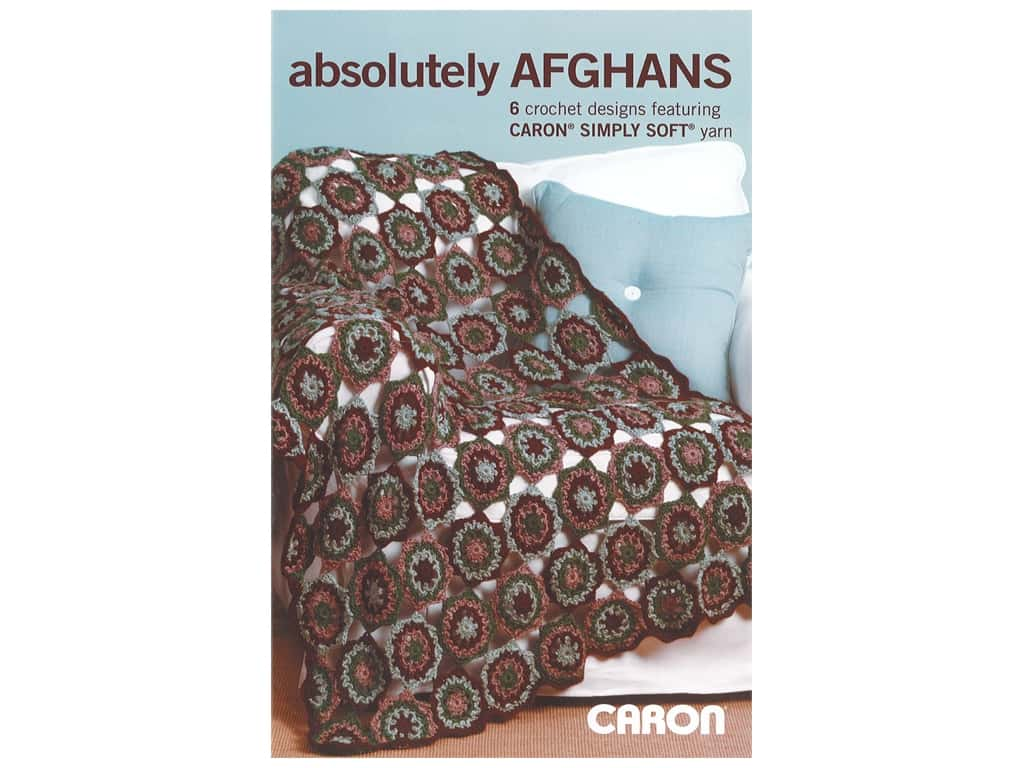 Leisure Arts Caron Absolutely Afghans Book