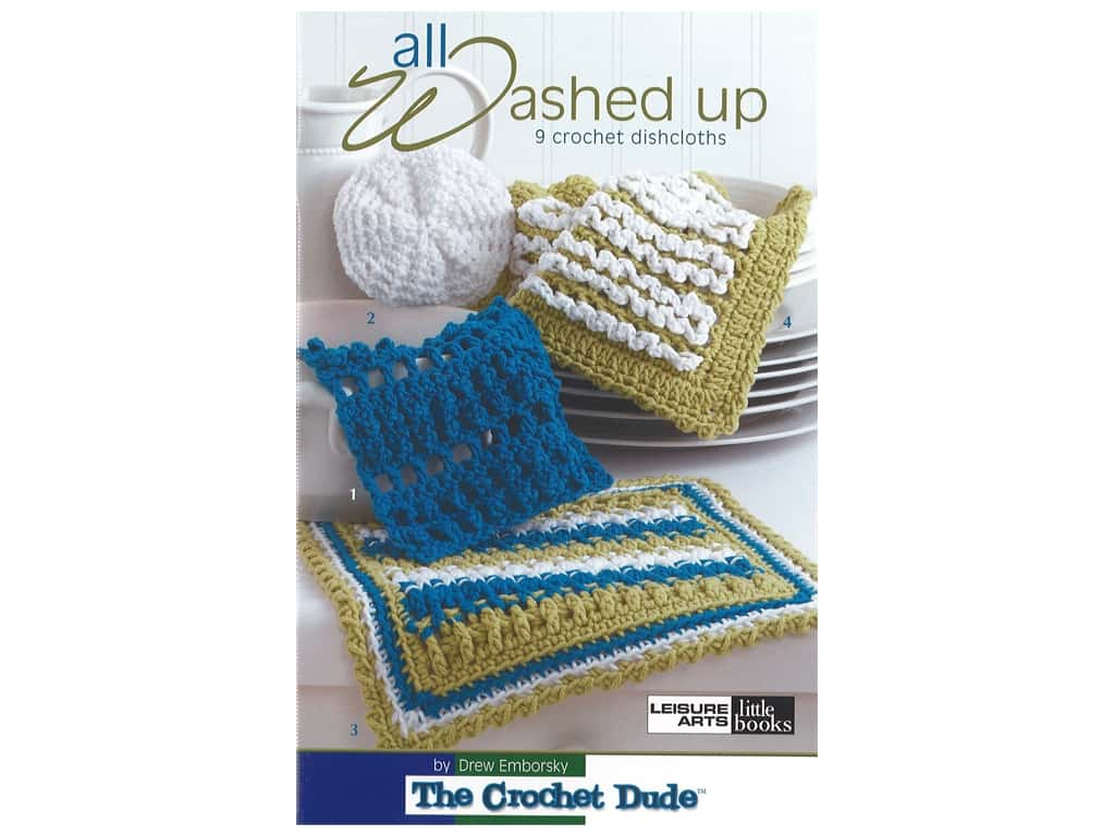 Leisure Arts Crochet Dude All Washed Up Book
