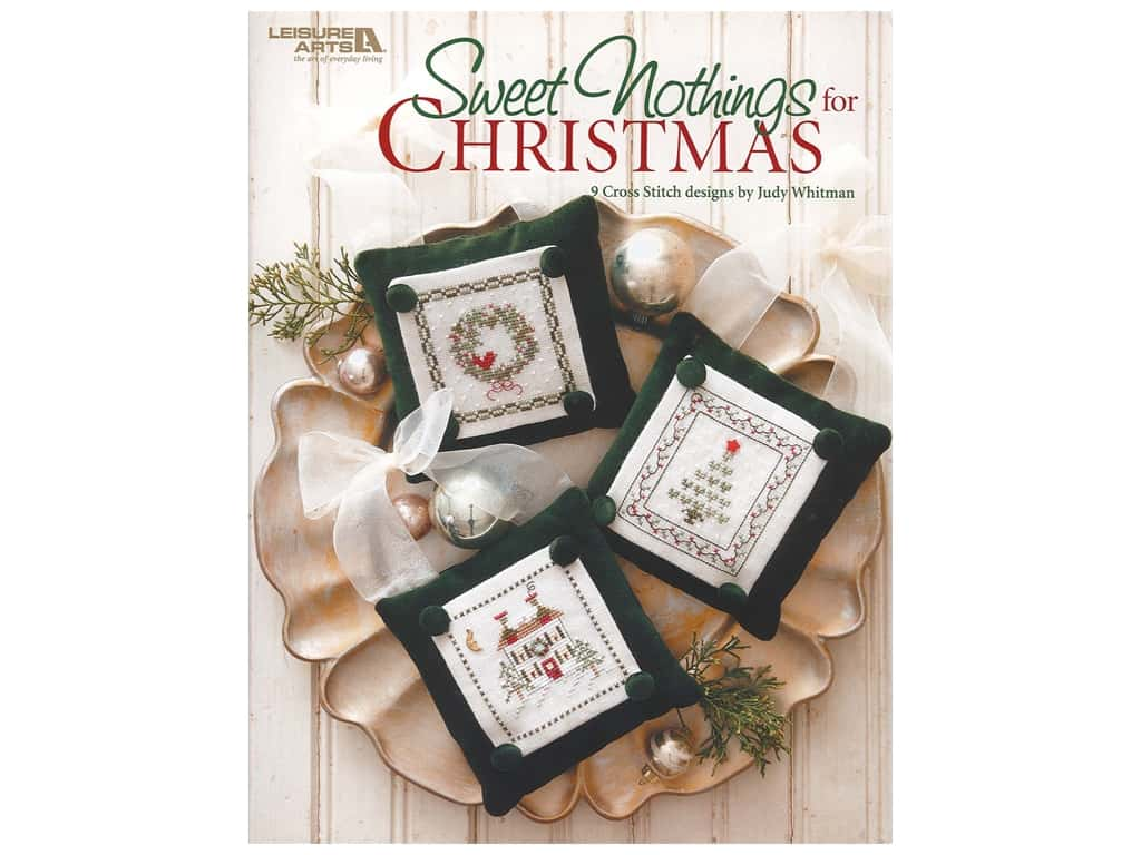 Leisure Arts Sweet Nothings For Christmas Book
