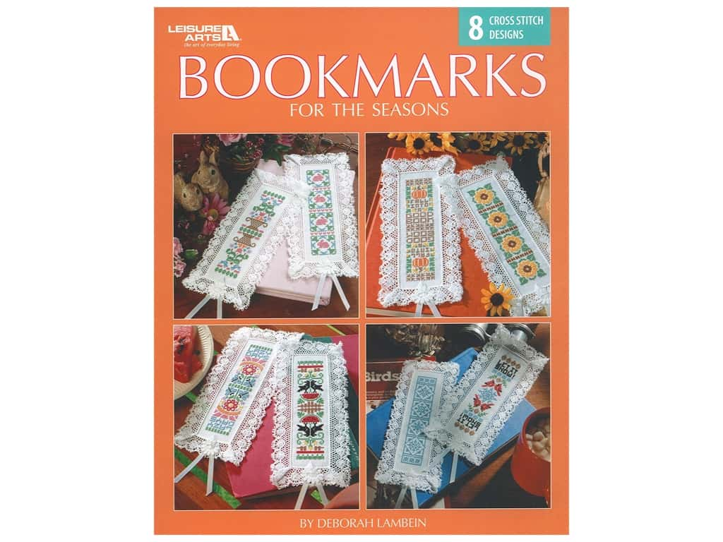 Leisure Arts Bookmarks For The Seasons Book