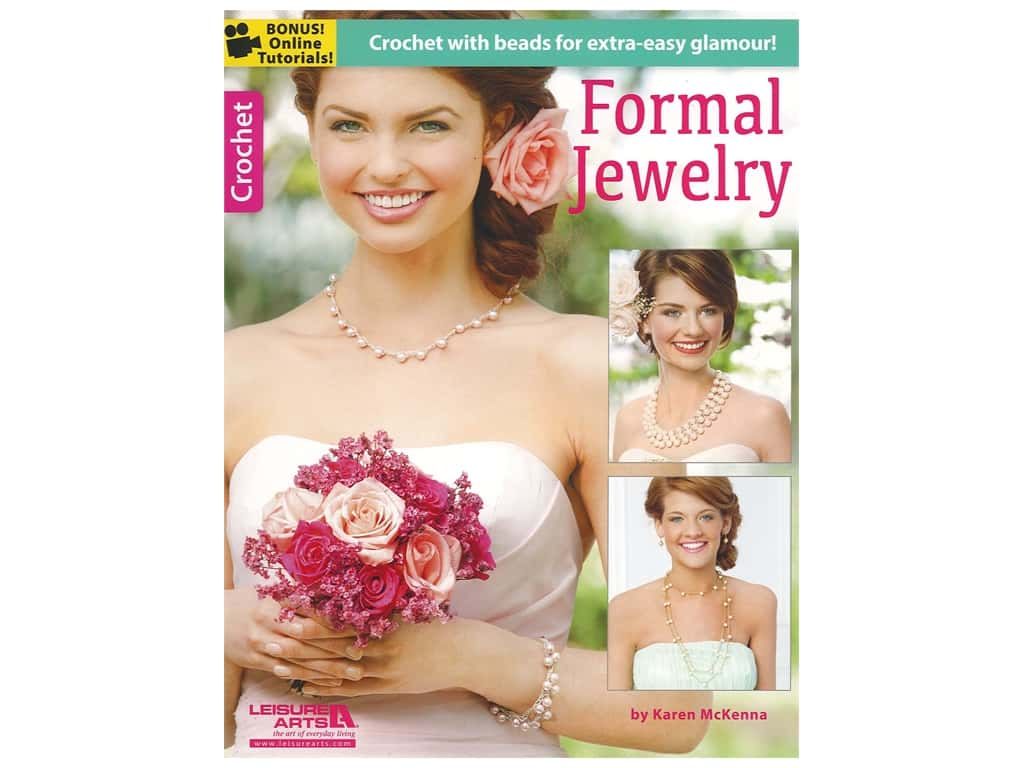 Formal Jewelry Crochet Book