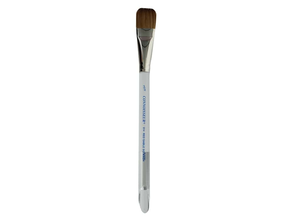 Connoisseur Pure Red Sable Brush Square Wash .75 in.