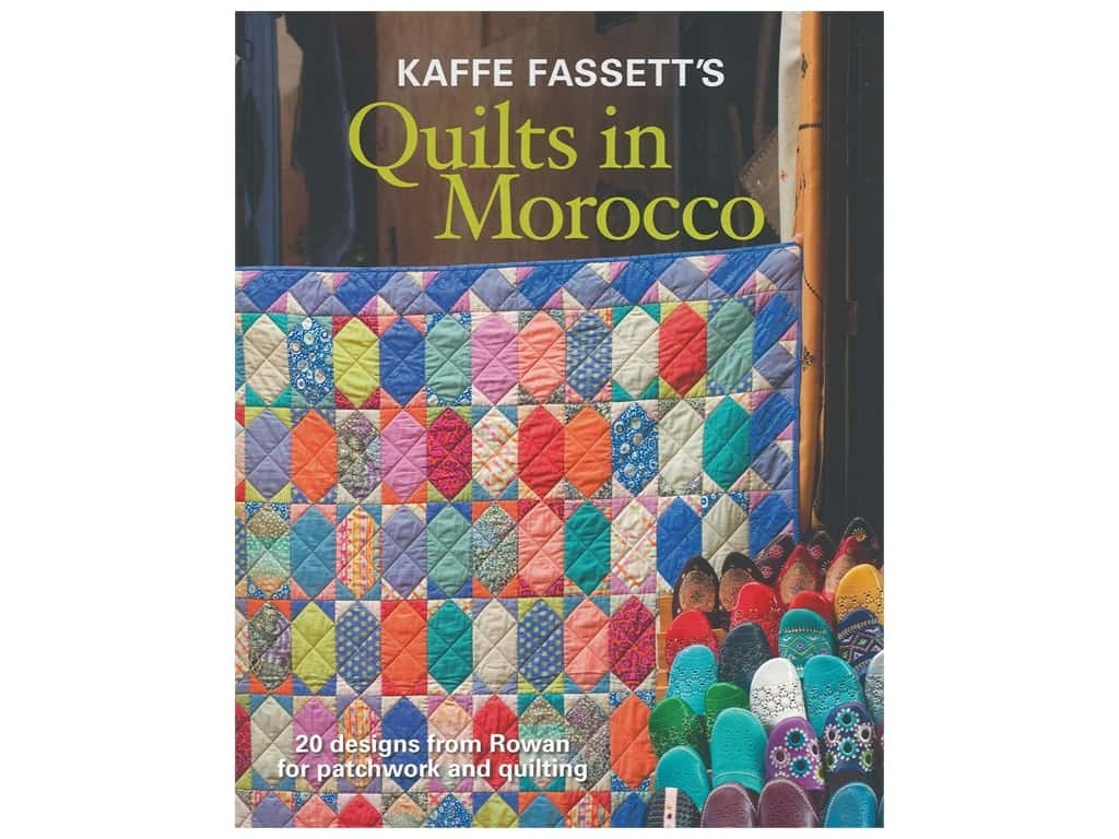 Taunton Press Kaffe Fassett's Quilts In Morocco Book