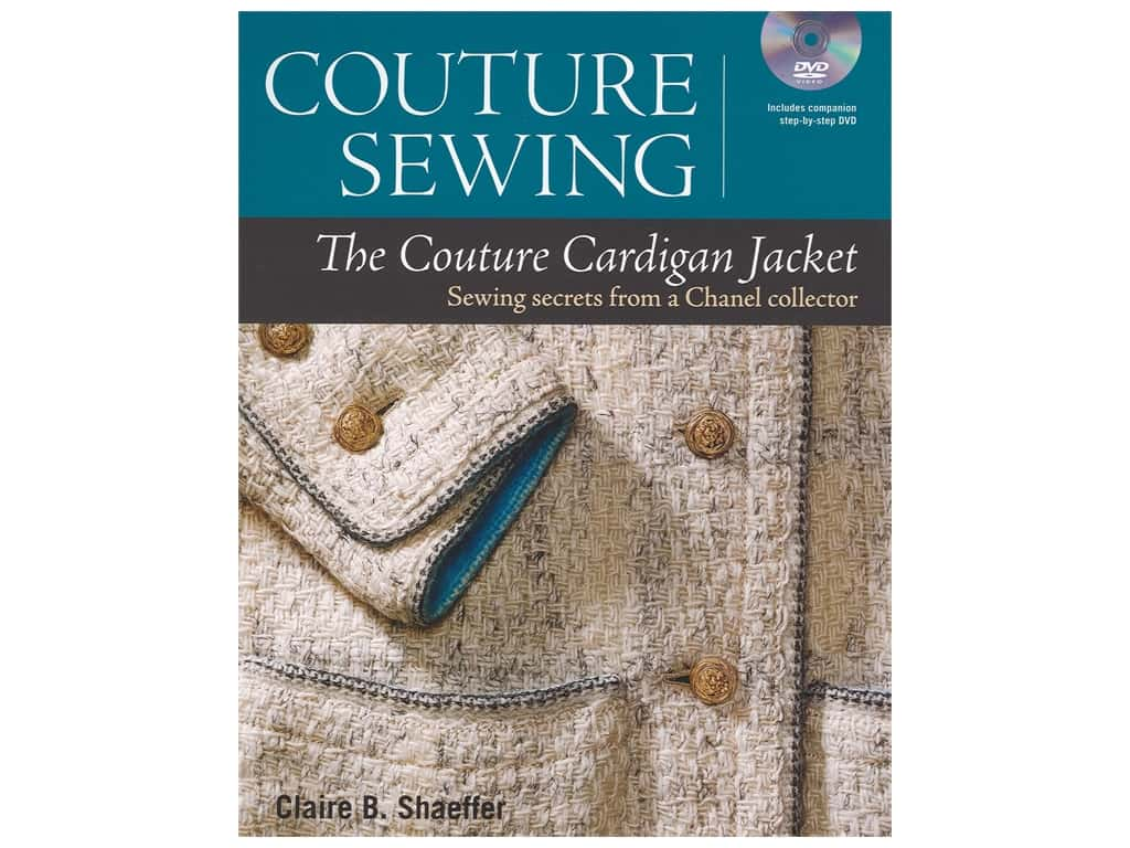 Taunton Press Couture Sewing The Couture Cardigan Jacket Book
