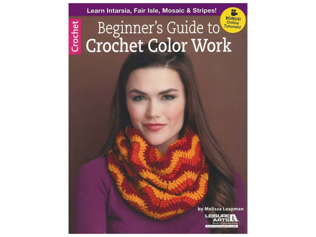 Beginner's Guide to Crochet Color Work Book