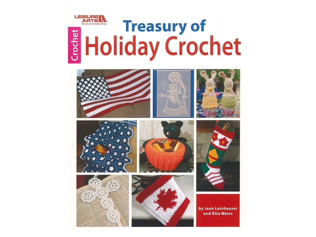 Treasury of Holiday Crochet Book