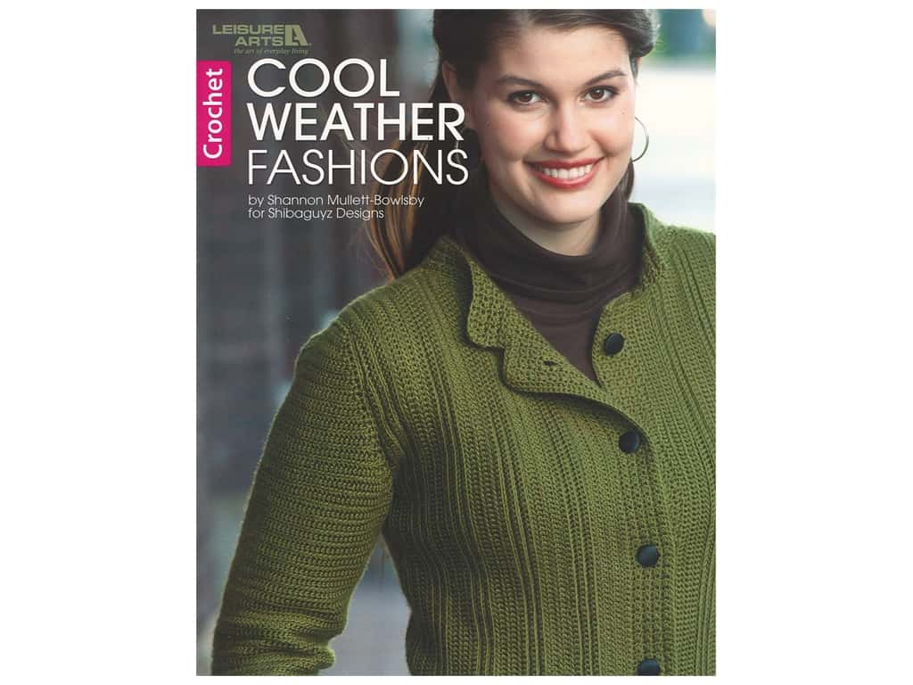 Leisure Arts Cool Weather Fashions Crochet Book