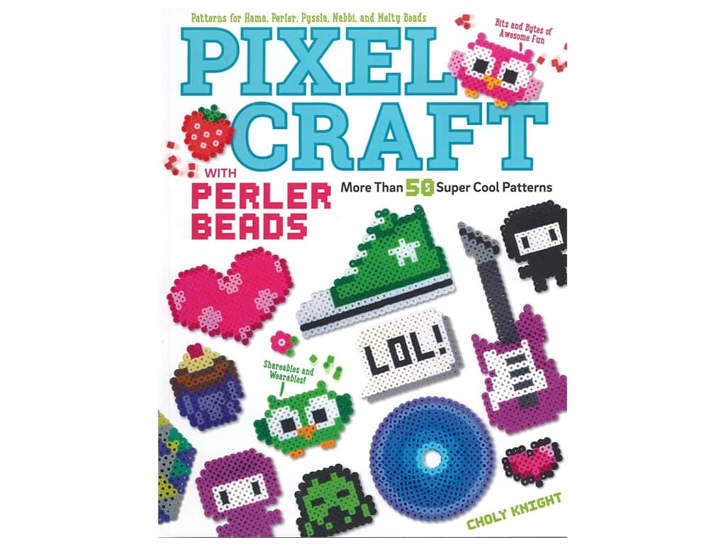 Design Originals Pixel Craft With Perler Beads Book