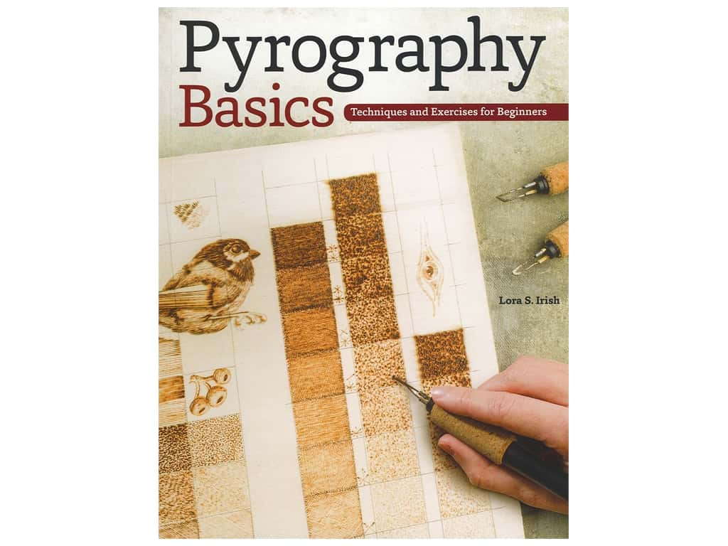 Design Originals Pyrography Basics Book