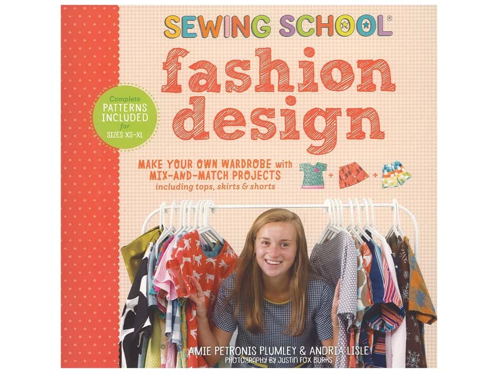 Sewing School: Fashion Design Book