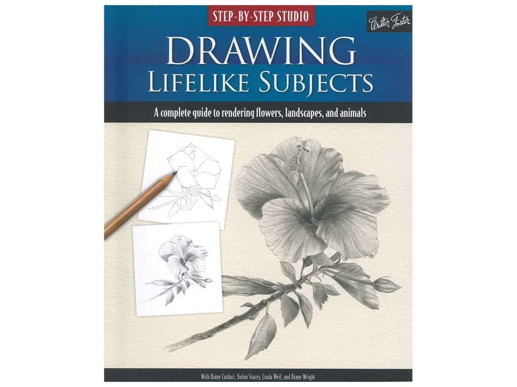 Walter Foster Drawing Lifelike Subjects Book