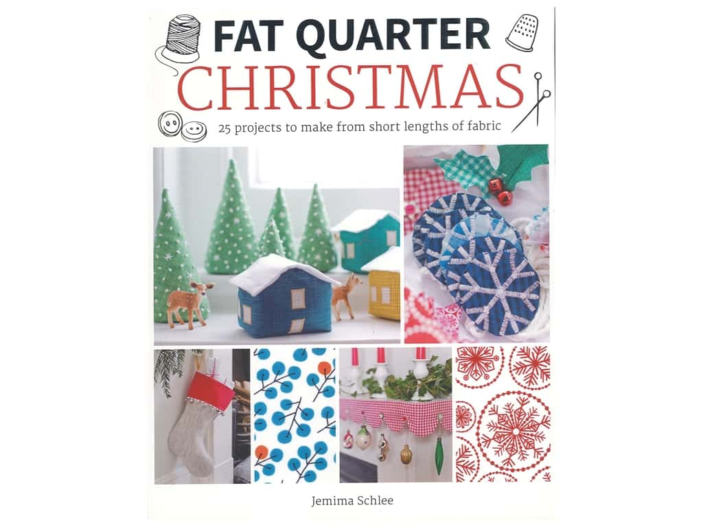 Guild of Master Craftsman Fat Quarter Christmas Book