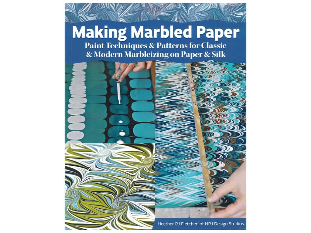 Fox Chapel Publishing Making Marbled Paper Book
